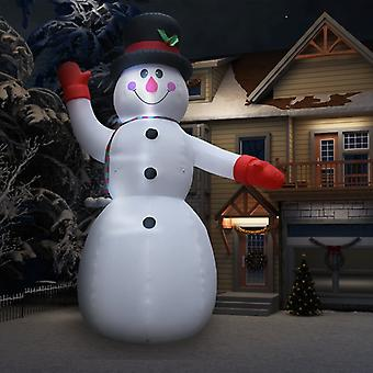 Inflatable snowman with LED for Christmas IP44 600 cm XXL