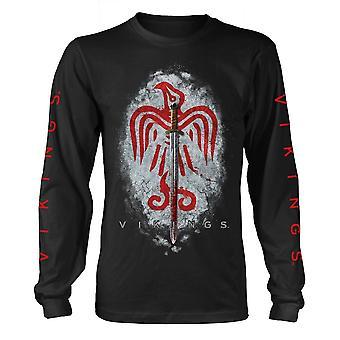Vikings Raven camiseta con espada