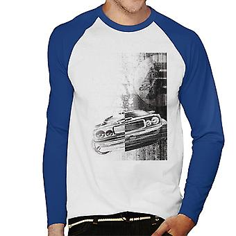 Fast and Furious Dodge Charger Close Up Men's Baseball Long Sleeved T-Shirt