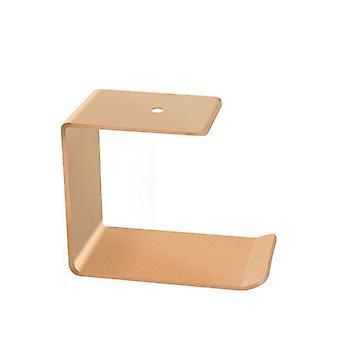 סגסוגת אלומיניום מתחת לשולחן מחזיק אוזניות