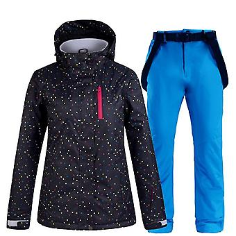 Winddicht, Wasserdicht, Snowboardjacke Winter Female Skiing Suits Schnee