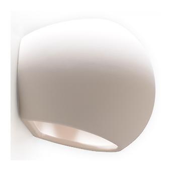 Globe hvid keramisk væg lys 1 lys