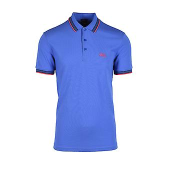BOSS Athleisure Boss Paddy Polo Shirt Medium Blue