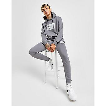 New Closure London Men's Box Joggers (Bottoms Only) Grey