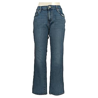 Levi's Women's Straight Jeans 31x30 كلاسيك جيبه أزرق أساسي
