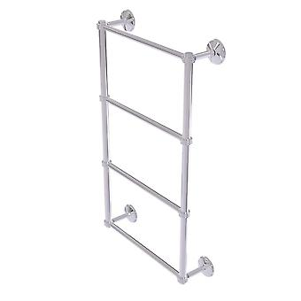 Monte Carlo Collection 4 Tier 36 Inch Ladder Towel Bar With Dotted Detail - Mc-28D-36-Pc