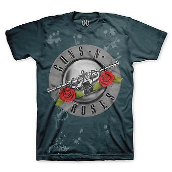 Guns n' rosas | t-shirt rosas desbotadas