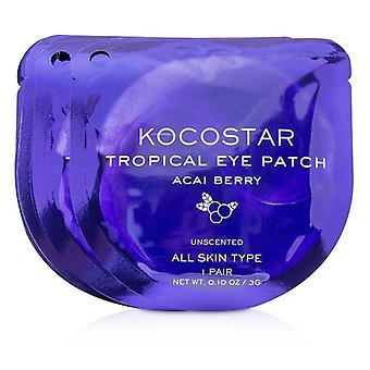 KOCOSTAR Tropical Eye Patch Unscented - Acai Berry (Individually packed) (Exp. Date 04/2021) 10pairs