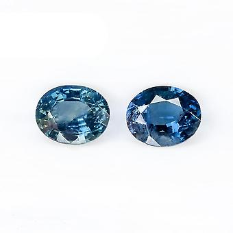 Natural Blue Sapphire Loose Gemstone For Jewelry Making