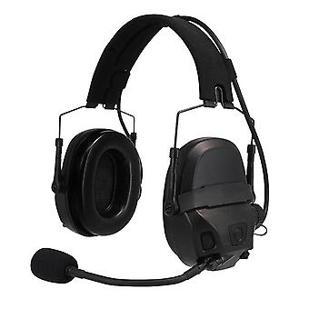 Tactical Amp Headset Kopf & Helm montiert, Pickup Noise Reduction Military