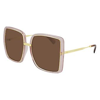 Gucci GG0903S 002 Pink/Brown Sunglasses
