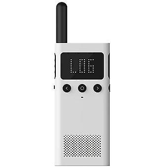 Smart Walkie Talkie mit Fm Radio Lautsprecher, Smart Phone App-Steuerung, schnelles Team