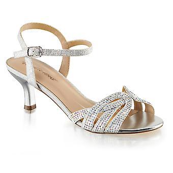 Fabulicious Frauen's Schuhe AUDREY-03 Lvschimmern Stoff
