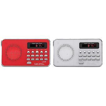 Portable Bible Audio MP3 Player Speaker AUX SD TF Card Port FM Radio For Elders