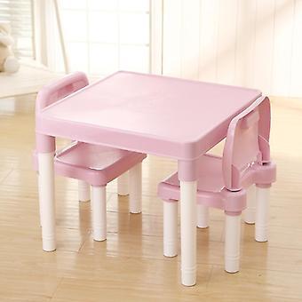 椅子セット付きの赤ちゃん学習テーブル