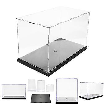 Diy Assembly Transparent Acrylic Display Case Car Boat Toy Storage Show Box