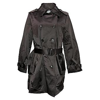 Joan Rivers Women's Coat Classic Trench Button Front Collar Brown A373958