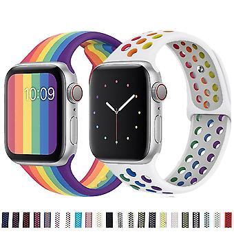 Soft Silicone Band For Apple Watch ( Set 2)