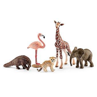 Schleich dyreliv dyr satt