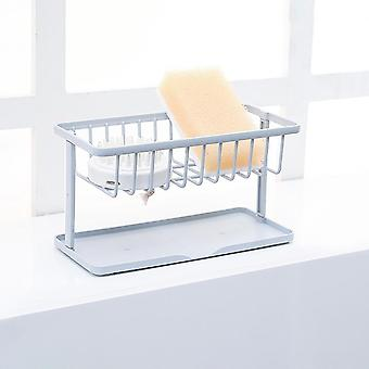 Adjustable Telescopic Sink Kitchen Drainer Rack, Storage Basket