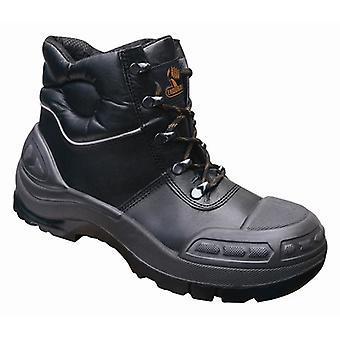 V12 VR657 Endura Ii Black Tough Comfort Boot EN20345:2011-S3 Size 7