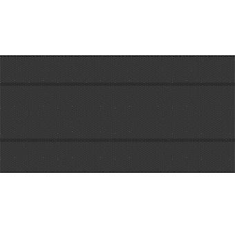 tectake Bassengdeksel svart firkant - 500 x 1000 cm