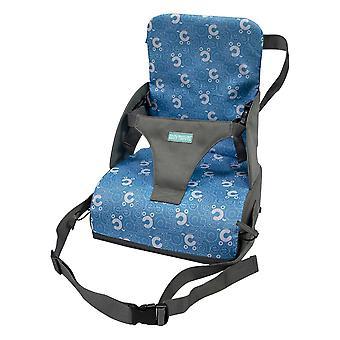 كرسي الطفل السفر للطي غطاء الطعام حزام الأمان مقعد