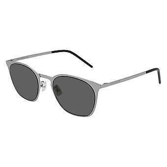 Saint Laurent SL 28 Slim Metal 003 Silver/Grey Sunglasses
