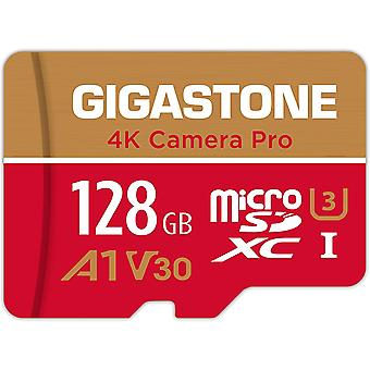 FengChun 128GB Micro SD Speicherkarte, 4K Kamera Pro, Kompatibel mit Nintendo Switch,