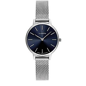 LLARSEN Analogueic Watch Quartz Woman with Stainless Steel Strap 146SDS3-MS12