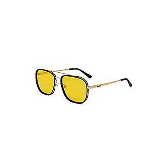Kimoa Daytona, Unisex Sunglasses, Gold, Normal