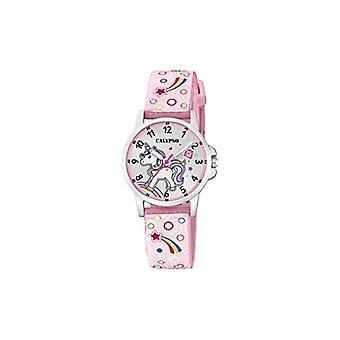 Calypso Watches Analog Watch Quartz Unisex Kids with Plastic Strap K5776/5