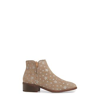 Steve Madden Womens Delila Leather Almond Toe Ankle Fashion Boots