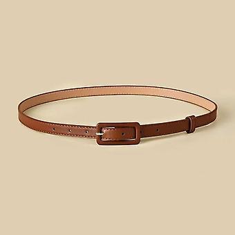Mehrfarbige Lady es Slender Thin Belt