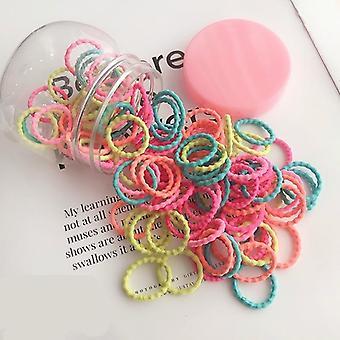 Kinder niedliche Farben weiche elastische Haarbänder