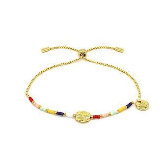 Boho betty clausena multicolour miyuki bead bracelet
