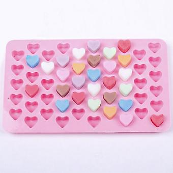 3d Silicone Diy Heart Form Chocolate Mold