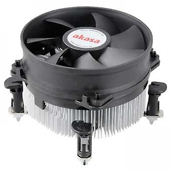 AKASA AK-CCE-7101CP Intel Socket 92mm PWM 3000rpm Dual Ball Bearing Fan CPU Cooler
