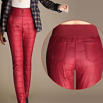 Women Windproof Waterproof Warm Trousers