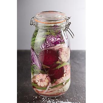 Kilner Clip Top Jar - Round 1.5L