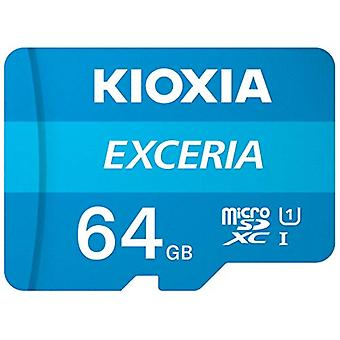 Kioxia 64GB Exceria U1 Class 10 microSD