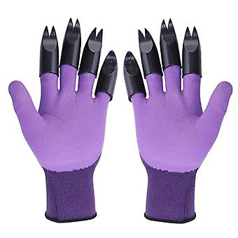Claw Abs Plastic Rubber Gloves