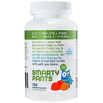 SmartyPants Kids Fiber Complete, 120 Chews