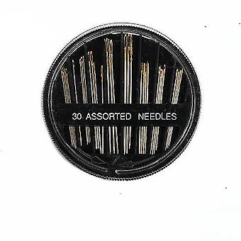Sewing Quilt Needle Hand Sewing Steel Needle Set Gold Tail Needle