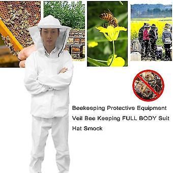 Imkerei Schutzausrüstung Schleier Bienen halten Ganzkörper Anzug Hut Smock