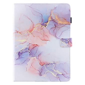 Case For Ipad Pro 11 Inch 2021 (3rd Generation) Cover Auto Sleep/wake Rotating Multi-angle Viewing Folio Stand - White Purple Pink
