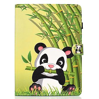 Case For Samsung Galaxy Tab S6 Lite Cover With Auto Sleep/wake Pattern Magnetic - Panda
