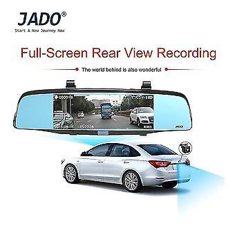 Jado D680s Professional 6,86 tuuman autokamera 1080p auton ilmaisin Dvr-tallennin