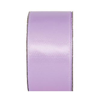 SISTA NÅGRA - 3m Lilac Mist 25mm Wide Satin Craft Ribbon