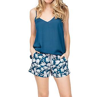 Cyberjammies Maria 4891 Cisne Azul de mujer Pijama de algodón corto